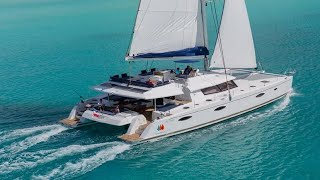 getlinkyoutube.com-Fountaine Pajot Victoria 67 catamaran walkthrough at the Cannes Yachting Festival 2015