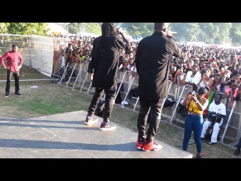 R2bees at Ghana party in the park 2014  @R2bees