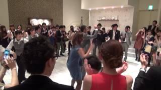 getlinkyoutube.com-フラッシュモブ サプライズ 結婚式 披露宴 余興 プロポーズ Marry You Flash Mob