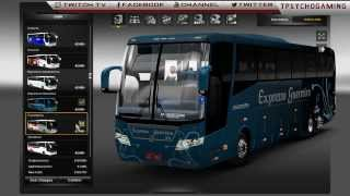 getlinkyoutube.com-Euro Truck Simulator 2-  1.7 BUS Mod + Link