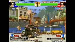 getlinkyoutube.com-[Arclive] Dakou (yessterday) vs 吖咩爹   The King of Fighters 98