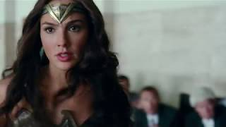 Justice League (2017) - Wonder Woman's Panties Upskirt width=