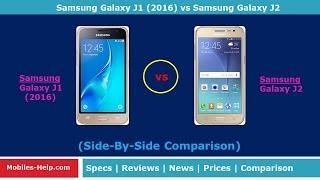 getlinkyoutube.com-Samsung Galaxy J1 2016 vs Samsung Galaxy J2  - What's The Difference?