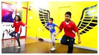 getlinkyoutube.com-Manma Emotion Jaage - DANCE video for KIDS | beginners Dilwale | Varun Dhawan | | Party Anthem