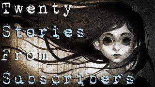 getlinkyoutube.com-20 SCARY TRUE SUBSCRIBERS HORROR STORIES - Vol.3 (Be Busta)