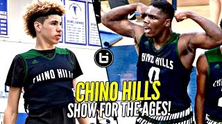 getlinkyoutube.com-LaMelo Ball & Chino Hills Put On a SHOW FOR THE AGES! 2nd Round Win vs LB Poly Full Highlights!