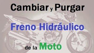 getlinkyoutube.com-Cambiar y Purgar Liquido de Freno a Disco en Moto