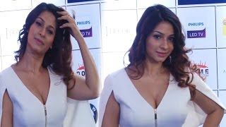 getlinkyoutube.com-Sexy Tanisha Mukherjee big cleavage Show at Opening Celebration Of JOYA