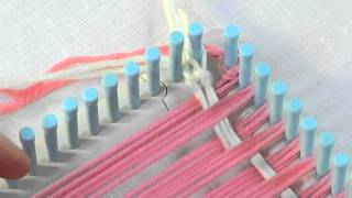 getlinkyoutube.com-Weaving: How to Weave the Weft