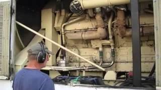 getlinkyoutube.com-Kohler 1500KW 480V Detroit Diesel 149TI Generator 4 hr Full Load test 1500ROZD PERFECT!
