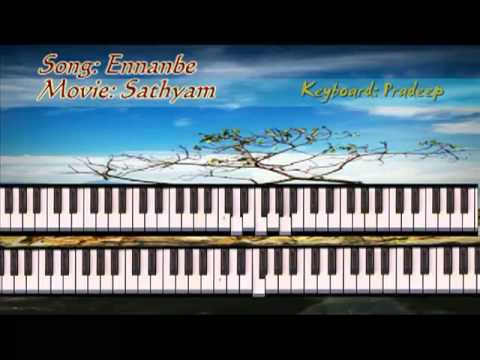 Enn anbe song from Tamil movie Sathyam on Keyboard