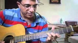 getlinkyoutube.com-Illaya Nila Tamil Song Ending Lead guitar lesson by Suresh