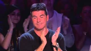 getlinkyoutube.com-Simon Cowell Made Fun of This Gospel Singer - Then Everyone is Blown Away