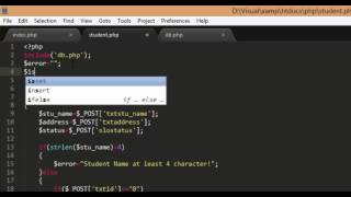 getlinkyoutube.com-PHP and Mysql select, insert, update and delete Part3