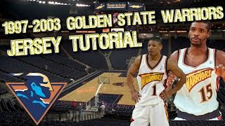getlinkyoutube.com-NBA 2K16: 1997 - 2003 Golden State Warriors Jersey and Court Tutorial