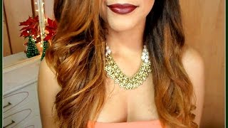 getlinkyoutube.com-Outfit + Peinado + Maquillaje de FIESTA ♥ Mery Alicee