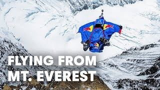 getlinkyoutube.com-Flying from Mt. Everest - The Mission - World Record BASE Jump
