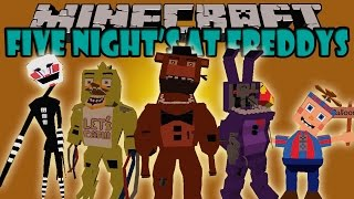 getlinkyoutube.com-FIVE NIGHTS AT FREDDY'S MOD - Terror Super Realista!!! - Minecraft mod 1.7.10