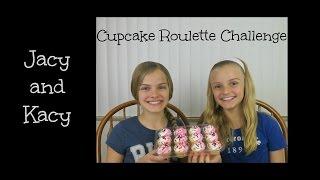 getlinkyoutube.com-Cupcake Roulette Challenge ~ Jacy and Kacy