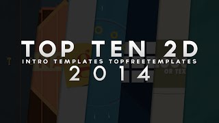 getlinkyoutube.com-(BEST) Top 10 FREE 2D Intro Templates - SONY VEGAS & AFTER EFFECTS 2014