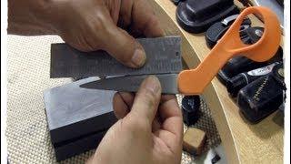 getlinkyoutube.com-Sharpening Scissors - Some Of My Tools