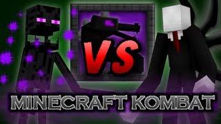 getlinkyoutube.com-Minecraft Kombat - Slenderman vs Enderman