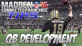 getlinkyoutube.com-Madden NFL 16 Connected Franchise Tips: QB Development