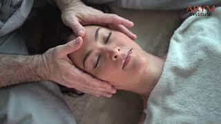 Ayurvedic Yoga Massage - Massaging Karina