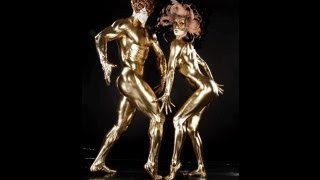 getlinkyoutube.com-Sexy Golden Lady Bodie