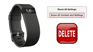 getlinkyoutube.com-How to Reset, Delete, Resetting the Clock, and Restoring to Factory Settings for Fitbit Charge HR