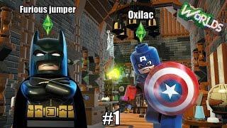 MINECRAFT EN HD ?! - Lego world ( ft Furious_jumper )