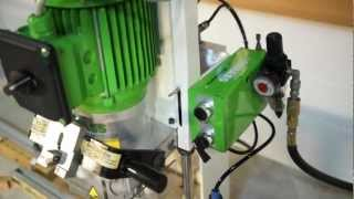 getlinkyoutube.com-GRASS ECO PRESS P HINGE BORING & INSERTION MACHINE W/LINE BORING HEAD
