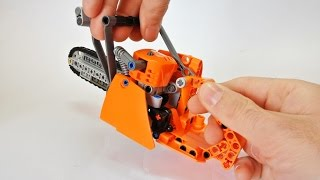 getlinkyoutube.com-How to Build a Lego Technic Chainsaw