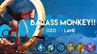 getlinkyoutube.com-Vainglory Gameplay - Episode 161: Badass Monkey!! Ozo |CP| Lane 1v1 Gameplay |Beta 1.14|