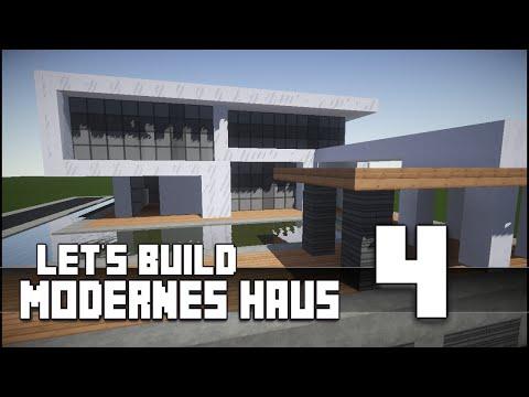 Minecraft :: Modernes Haus Bauen :: German/Deutsch #4