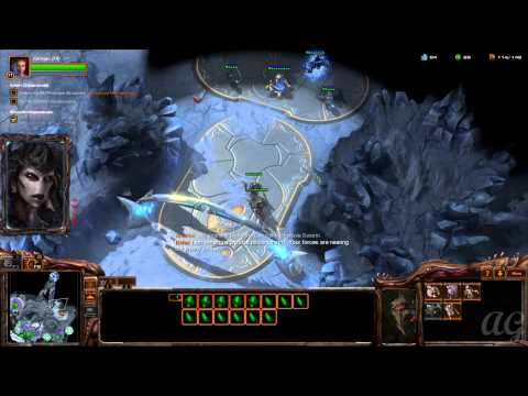 Starcraft 2: Heart of the Swarm - No Commentary Walkthrough 1080p HD Mission 5