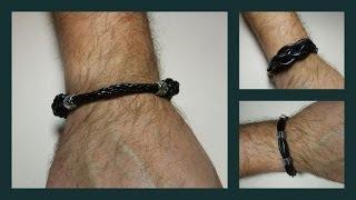 getlinkyoutube.com-Tres modelos de pulseras de hombre
