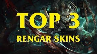 getlinkyoutube.com-TOP 3 Custom Rengar Skins League of Legends