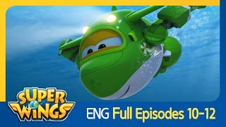 [Super Wings] Full Episodes 10~12(ENG)