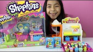 getlinkyoutube.com-Shopkins Small Mart- Shopkins Blind Baskets -Shopkins Toys|B2cutecupcakes