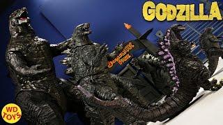 New Shin Godzilla  Radiation Heat Rays Version Sega Unboxing Review With King Kong