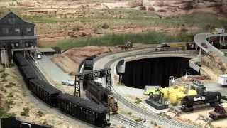 getlinkyoutube.com-LCJ&I Lines, 25. Rio Grande coal train loading