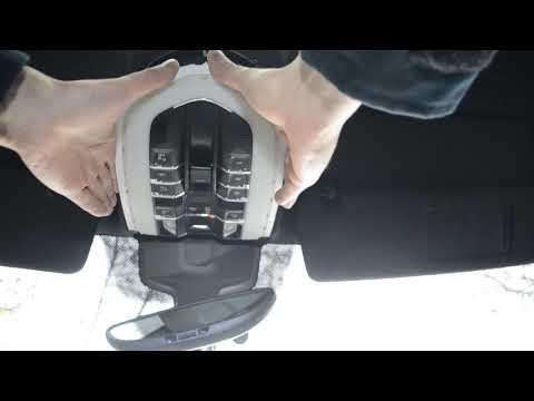 Как снять светильник Porsche Cayenne американской версии.