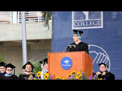 Wesley Chan's 2012 UCSD Commencement Address