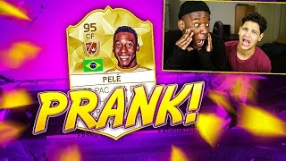 getlinkyoutube.com-PELE DANS UN PACK PRANK !!! - FIFA 16