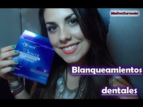 ☻ Blanqueamiento dental: Mi experiencia ( Crest White) / Teeth Whitening ☻