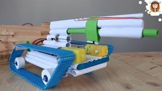 getlinkyoutube.com-How to Make a Battle Tank - Remote Controlled