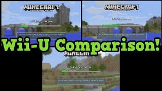 getlinkyoutube.com-Minecraft Wii U vs PS4 vs Xbox 360 Compared World Size Render Distance Review
