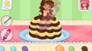 getlinkyoutube.com-Strawberry Shortcake Bake Shop Princess Cake  Games Part 1