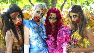 How-To-Make-Zombie-Disney-Princess-Makeup-and-Costumes width=